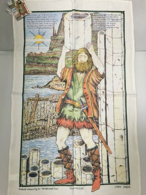 Irish Tea Towels - Finn MacCool